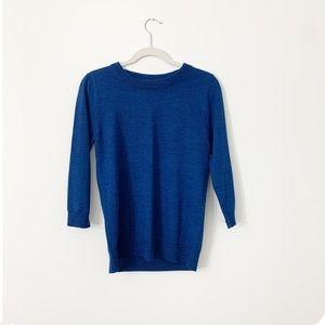 J Crew Sweater Deep Teal Size Medium
